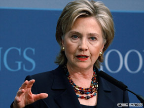 Secretary of State Hillary Clinton says the Bush administration was unrealistic in its dealings with Afghanistan.