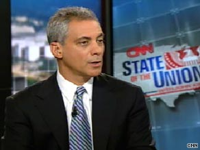 White House Chief of Staff Rahm Emanuel says President Obama is asking new questions about Afghanistan War.