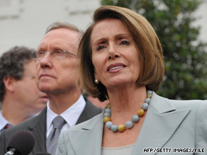 House Speaker Nancy Pelosi says helping small businesses creates jobs.
