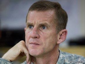 General Stanley McChrystal took command of U.S. forces in Afghanistan earlier this year.