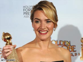 Kate Winlset has been nominated twice in the Baftas' leading actress category.