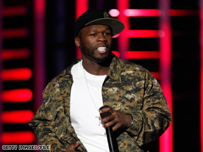 """In the new video game """"Blood on the Sand,"""" rapper 50 Cent takes on a few bad guys in the Middle East."""