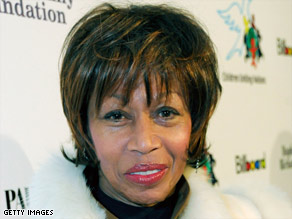 Altovise Davis, in a 2008 photo, married Sammy Davis Jr. in 1970.