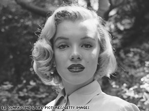 A 24-year-old Marilyn Monroe poses for Life magazine in August 1950.