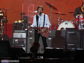 McCartney to give Mets' home its first show
