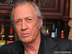 "David Carradine was the star of the 1970s TV series, ""Kung Fu,"" and appeared in more than 100 films."