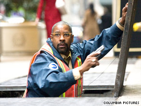 "Denzel Washington plays a New York subway supervisor in ""The Taking of Pelham 123."""