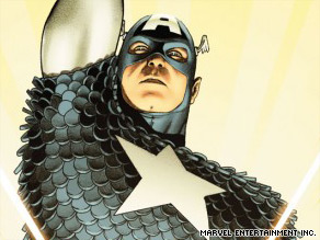 "Captain America will return in a new comic book series July 1. Its title: ""Captain America Reborn."""