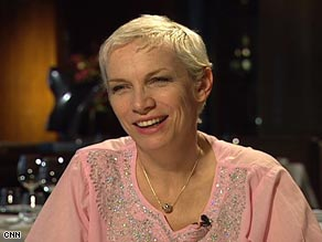 Annie Lennox will continue to SING with her AIDS awareness charity.