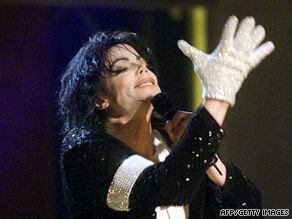 Michael Jackson's single glove, a trademark image, started as a way to hide his skin condition, friends say