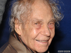 Choreographer Merce Cunningham attends a premiere in New York on October 25, 2006.
