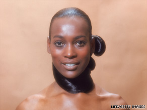 "Naomi Sims became an icon of the ""Black is Beautiful"" movement with her modeling."