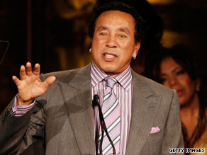 "Smokey Robinson's new solo album is called ""Time Flies When You're Having Fun."""