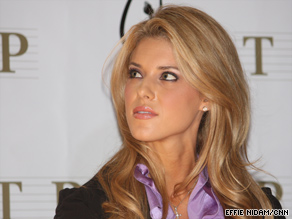 Carrie Prejean was stripped of her Miss California USA title earlier this year.