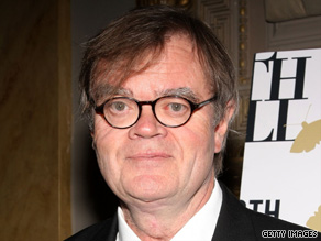 Author Garrison Keillor attends an event in New York on November 18, 2008.