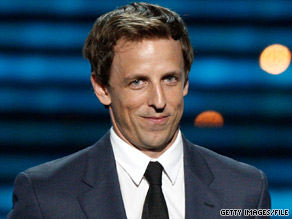 "Seth Meyers is thankful that politicians ""did not stop being crazy"" after the 2008 elections."