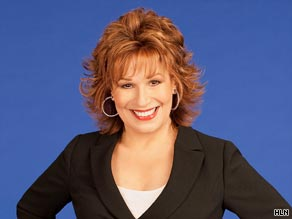 Joy Behar says Ukranian officials are wrong to try to block Elton John from adopting a 14-month-old boy.