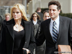 Howard K. Stern, right, companion of Anna Nicole Smith, is one of three people charged in the case.