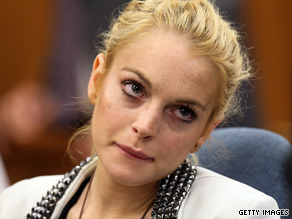 Lindsay Lohan attends a court hearing Friday in Beverley Hills, California.