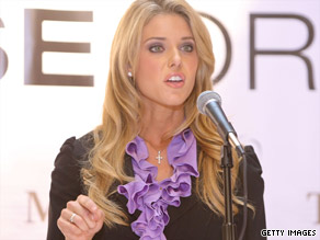 Carrie Prejean has been immersed in controversy since her response at the Miss USA pageant in April.