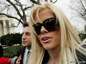 Anna Nicole Smith, with Howard K. Stern, was found dead in her hotel room in February 2007.