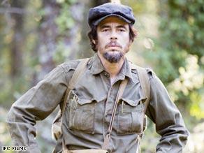 """Benicio Del Toro plays Ernesto """"Che"""" Guevara in Steven Soderbergh's biopic."""