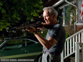 Clint Eastwood's latest action-drama, Gran Torino, was No. 1 on the first competitive weekend of 2009.