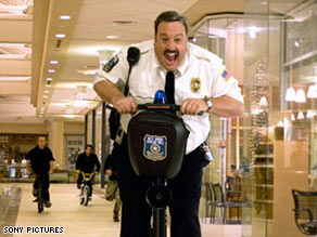 """Paul Blart: Mall Cop"" won the MLK holiday weekend in decisive fashion, grossing $33.8 million."
