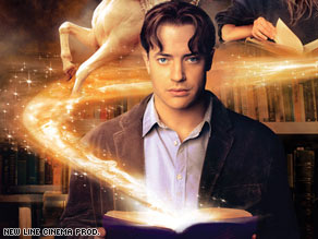 Brendan Fraser stars as Mo, a literature lover who brings characters to life when he reads aloud.