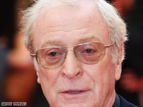 "You have to choose the critics you read carefully, Michael Caine tells ""The Screening Room."""