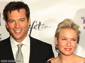 "Harry Connick Jr. and Renee Zellweger enjoyed working with one another on the set of ""New In Town."""