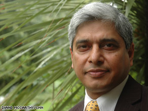 Vikas Swarup says he was inspired by the idea of an underdog coming out on top.