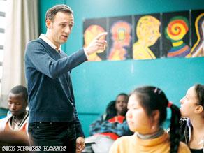 "Francois Begaudeau stars as a high school teacher in ""The Class."""