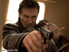 "Liam Neeson stars in 20th Century Fox's ""Taken,"" which debuted at No. 1 this weekend."