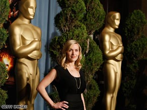 Actress Kate Winslet attends the 2009 Oscar Nominees Luncheon held at the Beverly Hilton Hotel.