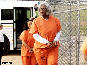 "Tyler Perry stars in ""Madea Goes to Jail,"" which is due out Friday. Perry is trying to expand his reach to Europe."