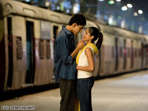 """Slumdog Millionaire"" with Dev Patel and Freida Pinto has a ""rags-to-riches"" storyline with wide appeal."