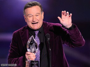 Actor-comedian Robin Williams was on an 80-city tour for his one-man show.
