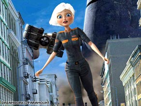 "Susan, aka ""Ginormica,"" has to save the world in ""Monsters vs. Aliens."""