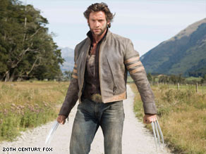 "Hugh Jackman stars in ""X-Men Origins: Wolverine."" An early version of the film was leaked to the Web."