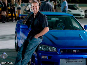 "Paul Walker stars in ""Fast & Furious,"" which exceeded expectations after taking in $72.5 million."