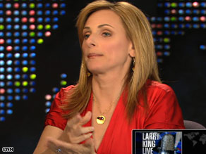 Actress Marlee Matlin appears on CNN's &quot;Larry King Live&quot; on Monday night to talk about her sexual abuse.