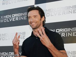 """X-Men Origins: Wolverine,"" starring Hugh Jackman, was downloaded over a million times after being leaked in early April."