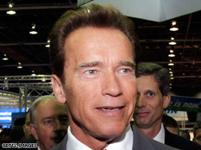 "California Gov. Arnold Schwarzenegger may ""be back"" in the next Terminator film."