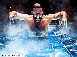 "Hugh Jackman emerges as Wolverine in ""X-Men Origins: Wolverine,"" which opened Friday."