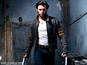 "Hugh Jackman stars as the title character in ""X-Men Origins: Wolverine."""