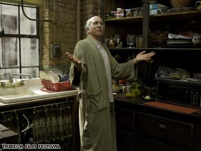 """Kindred comics: Larry David stars in """"Whatever Works,"""" Woody Allen's first New York film since 2004."""