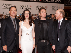 """Tom Hanks reprises his role as Robert Langdon in """"Angels & Demons,"""" the sequel to """"The Da Vinci Code."""""""