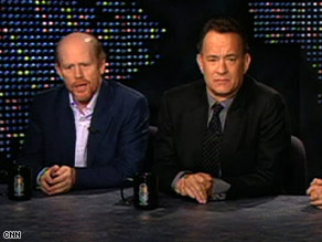 "Ron Howard and Tom Hanks spoke with Larry King on Friday about their new film, ""Angels and Demons."""
