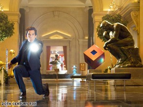 """Ben Stiller and the gang in """"Night at the Museum: Battle of the Smithsonian"""" were No. 1 at the box office."""